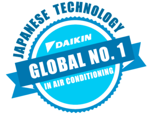 daikin global no 1