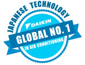 Daikin klíma japán