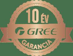 10 év Gree garancia