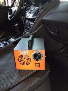 ózongenerátoros autóklíma tisztítás